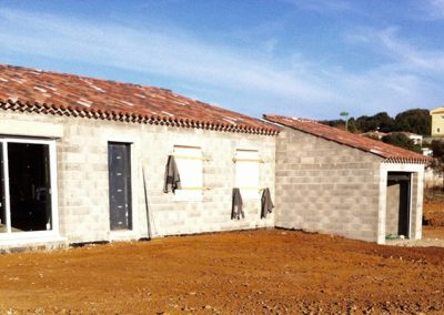 Construction villa de plein pied 110m²