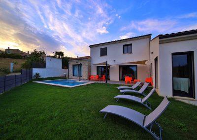Villa contemporaine construite à Pierrevert, 04