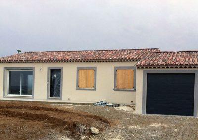 Construction maison de plein pied 04