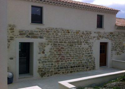 Extension surélévation et rénovation d'un bâtiment ancien